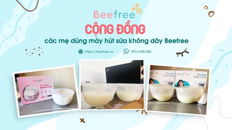 Tham gia Cộng đồng các mẹ dùng máy hút sữa không dây Beefree để không bỏ lỡ các tips hay nuôi con sữa mẹ